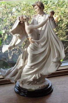 "eBay/Giuseppe Armani Florence ""True Love"" Wedding Sculpture Figurine Bride Groom"