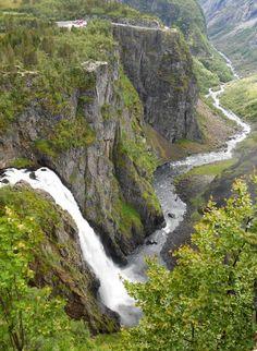 Vøringfossen, Noorwegen.