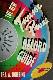 Ira Robbins (editor), The New Trouser Press Record Guide (1983)