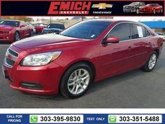 2013 Chevrolet Chevy Malibu ECO $12,999 62842 miles 303-395-9830  #Chevrolet #Malibu #used #cars #EmichChevrolet #Denver #CO #tapcars