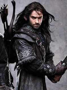 Kili.. from 'The Hobbit' .. Played by Aidan Turner. As fans have noted, Thorin's young nephews Fili and Kili are on the hunkier side. ''When someone mentions 'hot dwarves,' it's…
