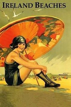 A history of swimsuits and bathing suits in the 1920s for both women and men plus accessories like the paper parasol. Where to buy bathing suits too.