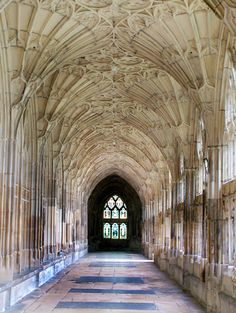 Gloucester Cathedral. Vaulting