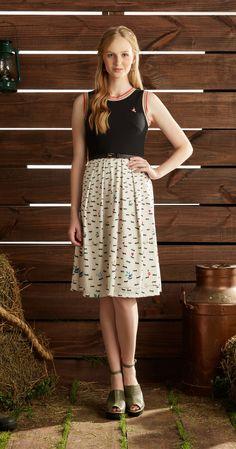 Só na Antix Store você encontra Vestido Midi Formiguinhas com exclusividade na internet