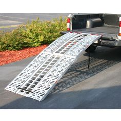 Ultra Tow Aluminum Folding Cargo Carrier With Ramp 500 Lb