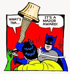 Another Batman-Slaps-Robin meme by Ernie Peters Batman Slap Meme, Batman Slapping Robin, Funny Batman Memes, Batman And Robin Movie, Christmas Story Movie, Funny Christmas, Christmas Time, Xmas, Spinning