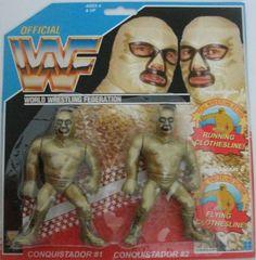 Wrestling Stars, Wrestling Wwe, Conquistador, Wwf Toys, Wwf Hasbro, Weird Toys, Modern Toys, Clothes Line, Vintage Toys