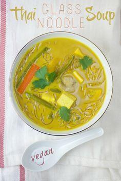 Thai Glass Noodle Soup | Produce On Parade