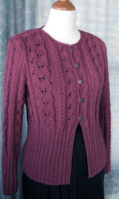 Ink & Wool--Therese Chynoweth--Serenity Cardigan