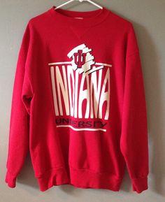 Men's or women's Indiana University Sweatshirt Size by karfletch, $35.95