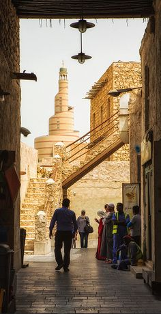 Souq Waqif, Doha, Qatar  - Explore the World with Travel Nerd Nici, one Country at a Time. http://travelnerdnici.com