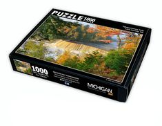 Custom Branded Jigsaw Puzzles by Michigan Nut Photography Michigan Waterfalls, Waterfall Photo, Mackinac Bridge, Jigsaw Puzzles, Photography, Photograph, Fotografie, Photoshoot, Puzzle Games