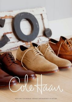 Cole Haan spring/summer; photo: Todd Selby #men #shoes