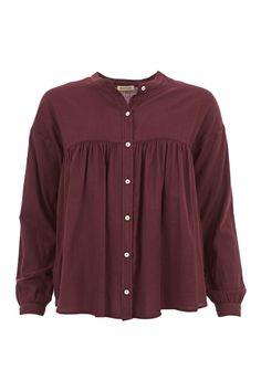 Soft Cotton Smock #Top WOWWTOA40061 £135.00  A signature style from Spanish brand #Masscob comes in the perfect fabric and colour-way for the winter season.