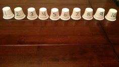 Common Core Math --- Keurig Coffee Cups---You can use these cups for counting by rolling a dice then counting out the cups.  Say your student rolls a 5.  Then that student would count out 5 cups.
