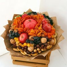 Vegetable Bouquet, Diy And Crafts, Projects To Try, Photo Wall, Vegetables, Food, Floral Arrangements, Fotografie, Meal