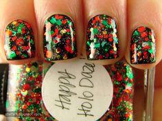 Christmas nails steffels.: Lynnderella Holiday Houseguests
