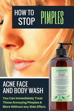 Acne Vinegar Face Wash / Powerful, SAFE and gentle without any HARSH chemicals. Stop clogging your skin pores and reverse skin damage.