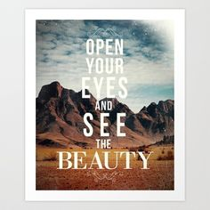 The Beauty Art Print by Zach Terrell - $16.00