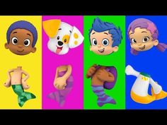 Wrong Heads For Kids Bubble Guppies Full Episodes Family Song Nursery Rhymes Kids Hangout - YouTube