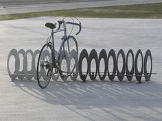 OLA - estante de bicicleta de acero - ArchiExpo