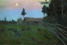 Исаак Ильич Левитан. Сумерки. 1899.