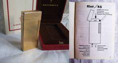 Rare 1950s SAVINELLI Flint 45  i11 gold plated от creatodame