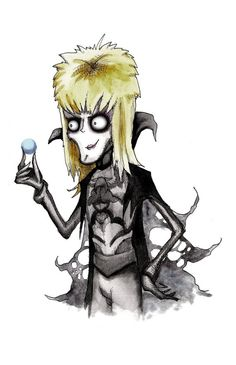 Burton Jareth Labyrinth Fine Art Print by LVBart on Etsy, $10.00