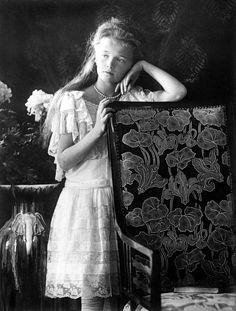 (1906) Grand Duchess Olga Nikolaevna, Tsar Nicholas ll. oldest daugther.