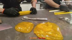 """#68 HANDMADE CANDY - HOW TO MAKING """"SCEMC"""" STICKY CANDY PROCESSING CANDY... Sticky Candy, Cambodian Food, Candy Games, Candy Cart, Cherry Candy, Candy Floss, Candy Making, Rock Candy, Candy Store"""