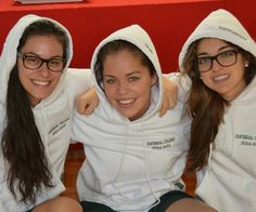 Students in the Class of 2015 receive their Grad hoodies!