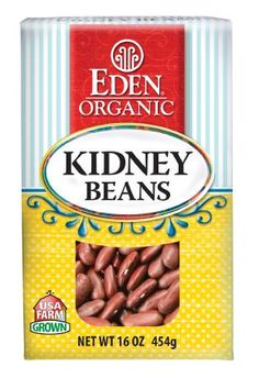 Eden Organic Dark Red Kidney Beans
