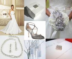 Diamond Wedding Theme Ideas - Moody Monday - The Wedding Community Blog