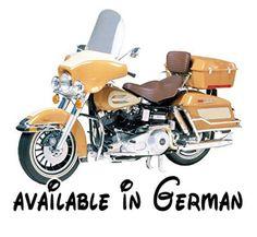 B00FB0A93C : Tamiya 300016040 - 1:6 Harley-Davidson FLH Classic Motorrad. Maßstab 1:6