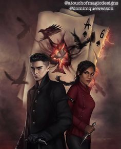 Six Of Crows Characters, Book Characters, Fanart, Crooked Kingdom, The Grisha Trilogy, Magic Design, Crow Art, Leigh Bardugo, My Ghost