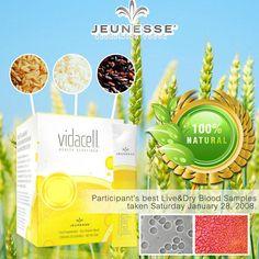 Jeunesse Vidacell DNA Repair Rice Powder Beverage 100% All Natural 30 Sachets #Jeunesse