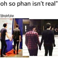 tbh: this is adorable af & i 100% ship it if it were true but i hate it when the phandom (not all cuz ik most of the phandom isnt as bad) forces the whole gay thing on them & it makes me embarrased to be apart of the phandom, im not saying not to ship them idgaf cuz i do 100%, just please dont force this bs on them.