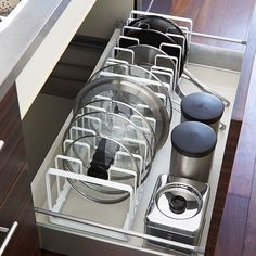 3 Simple Improvement Ideas For Your Kitchen Space – Home Dcorz Storage Cabinet With Drawers, Kitchen Drawer Organization, Kitchen Drawers, Kitchen Storage, Home Organization, Cheap Furniture, Kitchen Furniture, Kitchen Interior, Modern Furniture