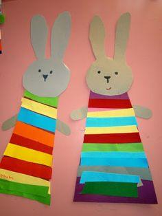 Προσχολική Παρεούλα : Πασχαλινά είδη με τα χρώματα της Άνοιξης .. Δημιουργικοί τρόποι διακόσμησης ..