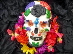 Day of the Dead Skull Cake | Diary of a Mad Hausfrau
