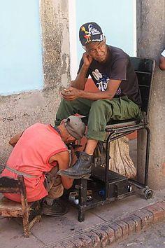 Cuba - Belles pompes à Trinidad