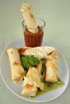 baked mozerella sticks
