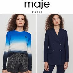 Maje offers an up to 60% off sale items + extra 20% off with free shipping. #womensfashion #uglyshoes #uglyshoesfashion #womensoutfit #womensclothing Ugly Shoes, End Of Season Sale, 20 Off, Maje, Sale Items, Fashion Shoes, Free Shipping, Clothes For Women, Coat