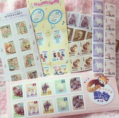beautiful stamps I really want :D