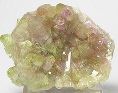 Mangan Lilac and Green Vesuvianite Idocrase by FenderMinerals