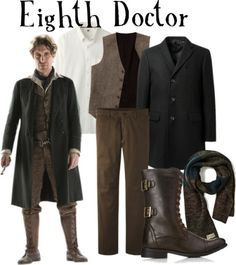 "Eighth Doctor from ""The Night of the Doctor"" for men Buy it here!"