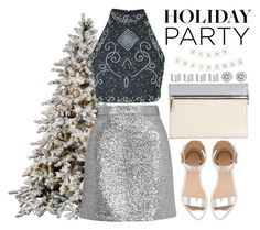"""""""Day to Night: Holiday Party"""" by yumi-aug ❤ liked on Polyvore featuring Topshop, Zara, Victoria Beckham, Maison Margiela, Michael Kors and HolidayParty"""