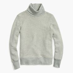 Shop the Relaxed Heather Turtleneck Sweatshirt at JCrew.com and see the entire selection of Women's Activewear.
