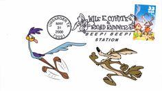 Wile E. Coyote & Road Runner Beep Beep Station Umbarger TX 2000 Event Cover