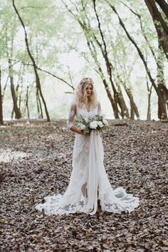 Risqué Sheath With Unlined Sleeves Wedding Dress Front Slit Ivory Lace – SisaStore Nordic Wedding, Edgy Wedding, Wedding Styles, Wedding Stuff, Lace Wedding, Dream Wedding, Wedding Ideas, Wedding Dresses Plus Size, White Wedding Dresses